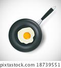 图标 锅 餐叉 18739551
