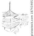 오노 미치 풍경 수묵화 18743465