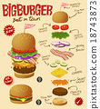 Big Hamburger 18743873