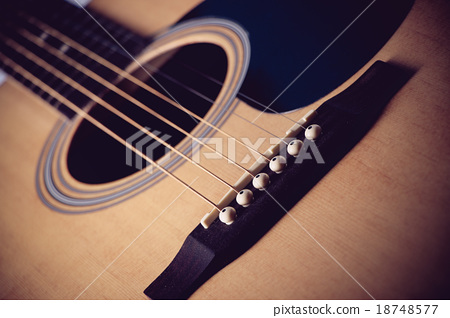 Acoustic guitar 18748577
