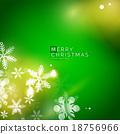 휴일, 녹색, 벡터 18756966