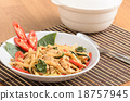 Stir fried spicy chicken with bamboo shoots 18757945