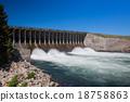 Jackson Lake Dam in Grand Teton National Park 18758863
