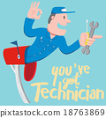 You have got Technician! 18763869