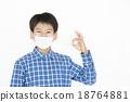 预防感冒 面具 面膜 18764881