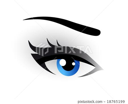blue eye makeup 18765199