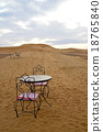 table and seat  desert    morocco    africa   18765840