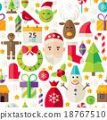คริสต์มาส,คริสมาส,เวกเตอร์ 18767510