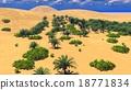 African oasis on Sahara 18771834