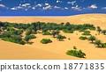 African oasis on Sahara 18771835
