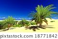 African oasis on Sahara 18771842