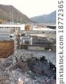 拆解场面 地点 挖掘机 18772365