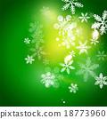 휴일, 녹색, 벡터 18773960