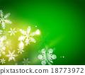 휴일, 녹색, 벡터 18773972