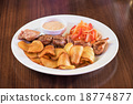 food, dish, grilled 18774877