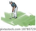 高爾夫 男人们 運動 18780729