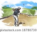 高尔夫 男人们 男子 18780730