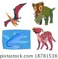 恐龍 古代生物 中生代 18781536