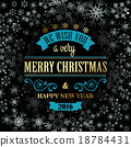 retro, christmas, design 18784431