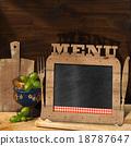 Blackboard Menu in the Kitchen 18787647