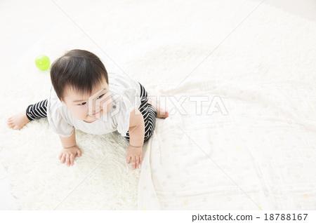 9個月大的寶寶 18788167