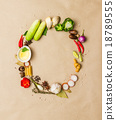 Vegetables for cooking. 18789555