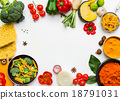 Selection vegetables and herb. 18791031