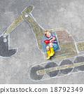 boy, dipper, drawing 18792349