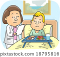 Girl Nutritionist Patient Kid Boy Hospital 18795816