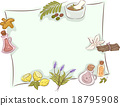 Frame Kinds of Herbs 18795908