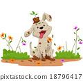 狗 狗狗 向量 18796417