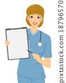 cartoon, clipboard, doctor 18796570
