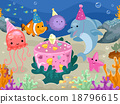 Animals Underwater Birthday 18796615
