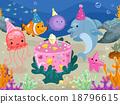Animals Underwater Birthday 18796615