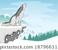 Wolf Snow Mountain 18796631