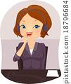 Girl Front Desk Attendant Call 18796684