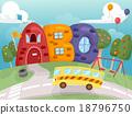 ABC School Bus Stop 18796750