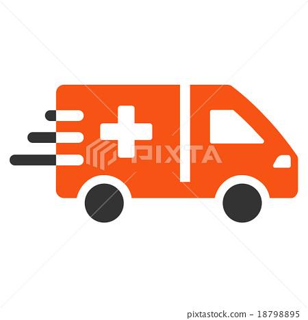 Emergency Car Icon 18798895