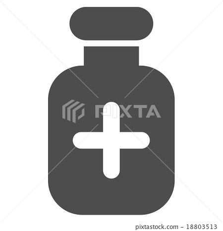 Medication Vial Icon 18803513