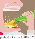 beer, vector, tasty 18809775