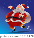 Vector cartoon Cute Santa Claus 18810478