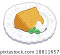 雪纺蛋糕 18811657