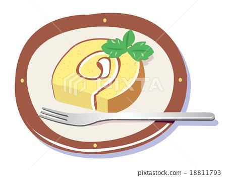 Roll cake 18811793