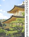 Famous Golden Pavilion in Kyoto (Japan) 18825682