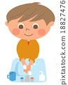 矢量 預防感冒 洗 18827476