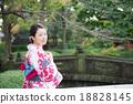 ผู้หญิงกิโมโน 18828145