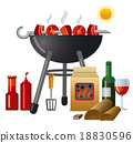 grill, food, barbecue 18830596