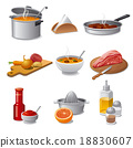 cooking food icon set 18830607