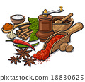 spices and flavors 18830625