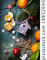 Christmas composition 18832640
